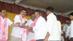 Konda Vishweshwar Reddy welcome's new members into the party at Vikarabad 4