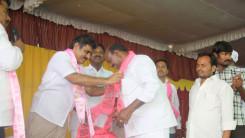 Konda Vishweshwar Reddy welcome's new members into the party at Vikarabad 7