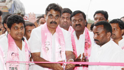 Konda Vishweshwar Reddy Inaugurating TRS Party office in Vikarabad 245x138