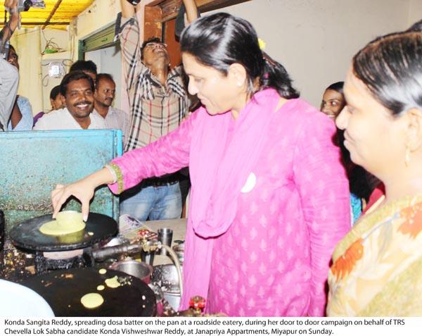 Konda Vishweshwar Reddy _ Sangeeta Reddy 28-04-14 02