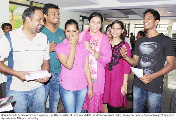 Konda Vishweshwar Reddy _ Sangeeta Reddy 28-04-14