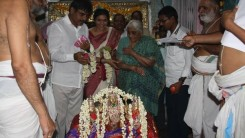 Konda Vishweshwar Reddy visited Chilukur Balaji Temple 1
