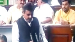 Konda Vishweshwar Reddy taking oath as MP 245x138